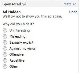 hide ad
