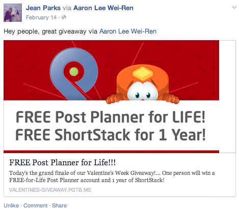 how to run a contest on facebook business page