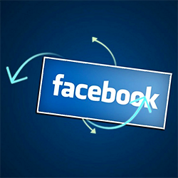 share blog posts on facebook
