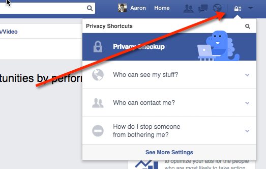 How to delete facebook apps from your profile the easy way click the blue dinosaur for a privacy checkup facebook apps ccuart Images