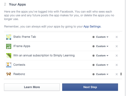 How to delete facebook apps from your profile the easy way facebook apps ccuart Choice Image