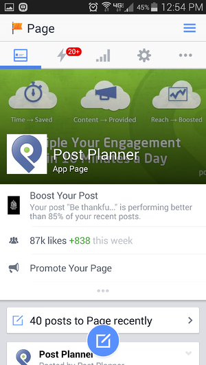 how to delete a post on facebook app