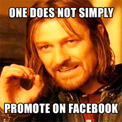 how to promote on facebook