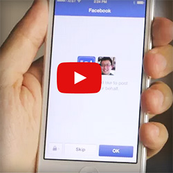 use facebook login to access mobile apps