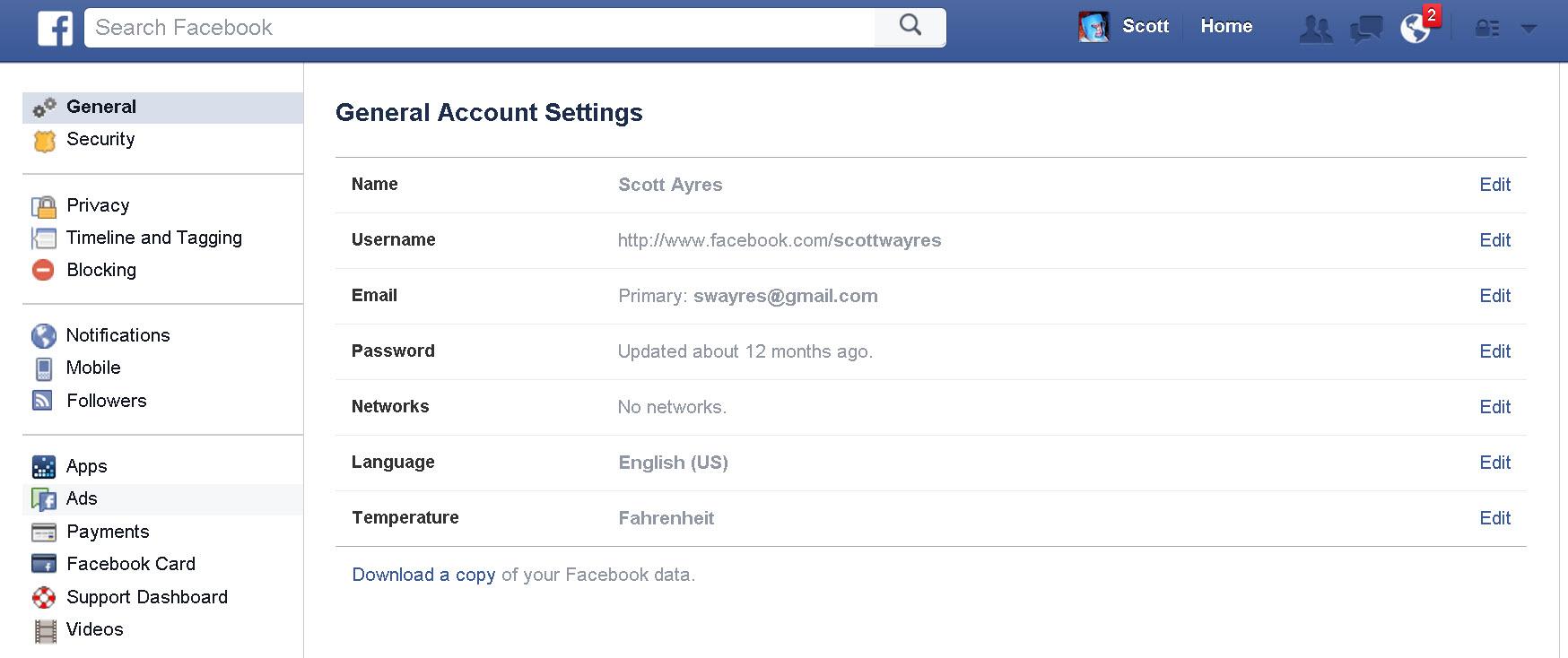 Facebook Delete Account Web Screenshot 003 Howtoremovefacebookapps