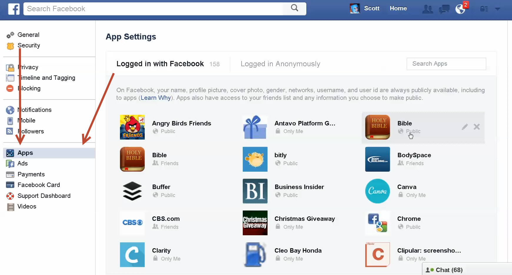 Now You Can See All The Apps You're Connected To On Facebook