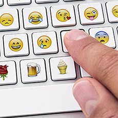 how to use emojis on instagram