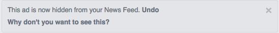 hide facebook ads