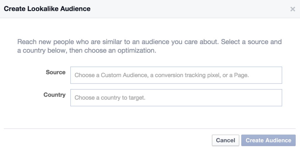 lookalike audiences with facebook ads