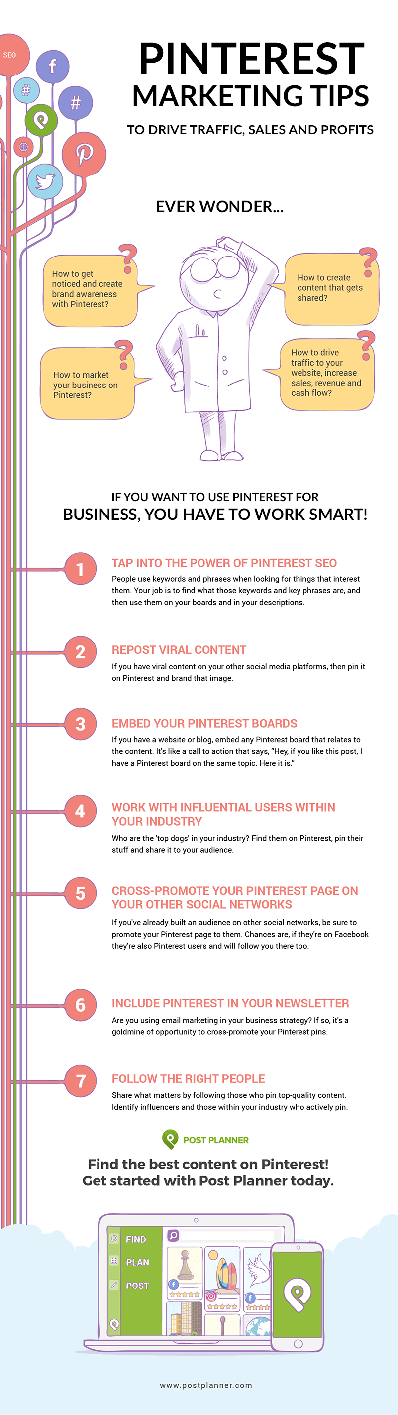 Pinterest Hacks to Drive Traffic, Sales and Profits infographic-01 (1)