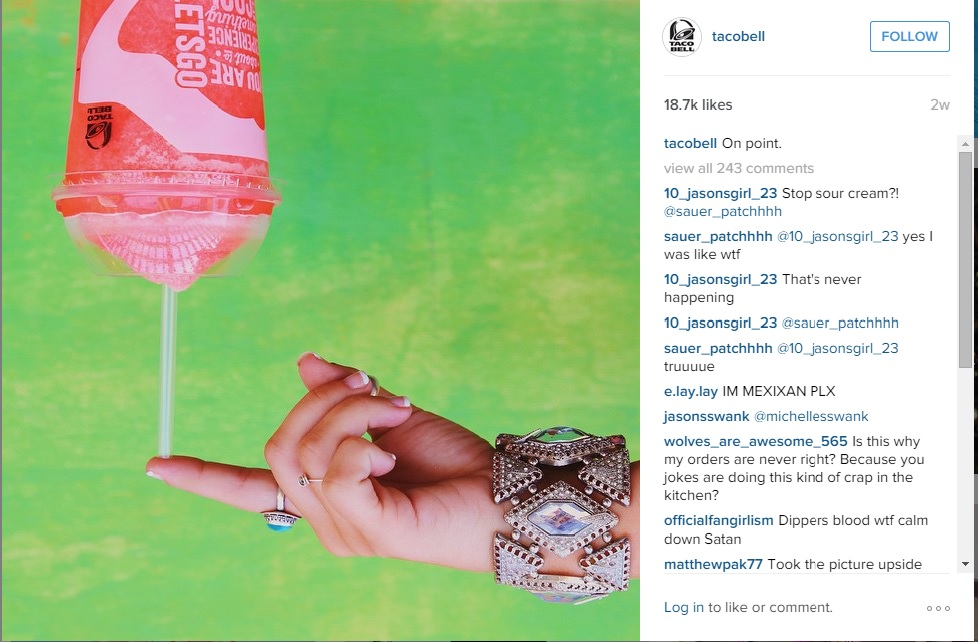 Visual Content Marketing: Taco Bell