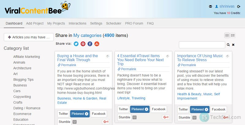 Viral-Content-Bee-Dashboard