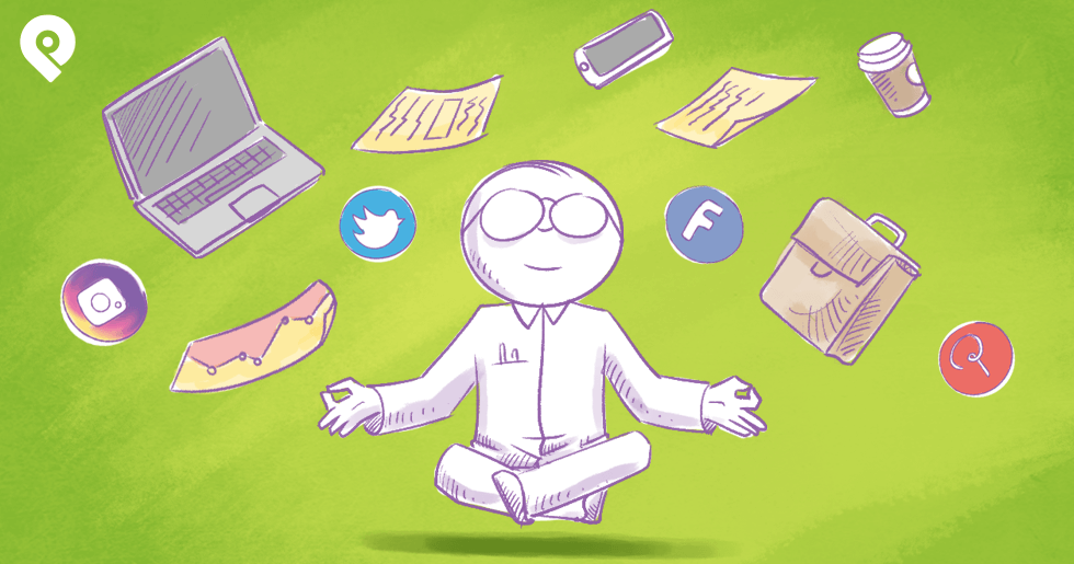 How Top Marketers Avoid Social Media Overwhelm (and Get More Done)
