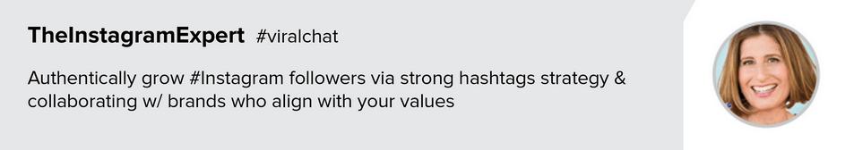 #ViralChat Sue B. Zimmerman