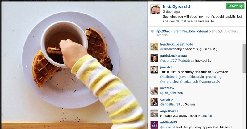 2-Yr-Old Shows How to Get Famous on Instagram (the Kid's Got Skillz!)