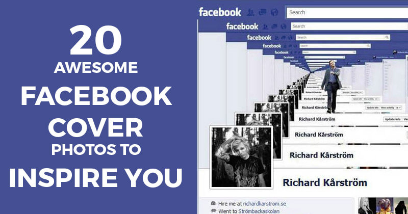 20 Awesome Facebook Cover Photos to Inspire You