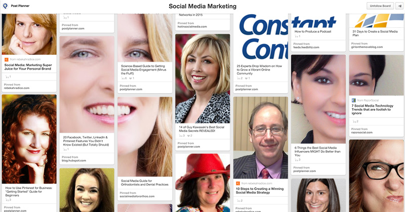 27 Awesome Social Media Marketers to Follow on Pinterest