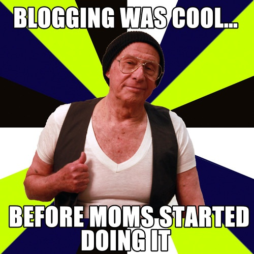 blogging was cool