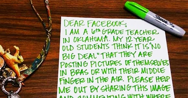 6th Grade Teacher Shows How to Go VIRAL on Facebook (to Teach Students a Lesson)