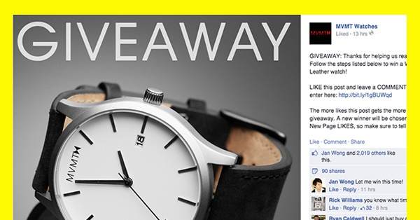 9 Facebook Giveaway Ideas That Won't Break The Bank
