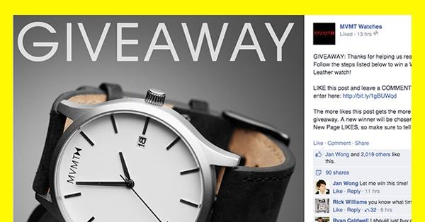 9 Facebook Giveaway Ideas That Won't Break The Bank