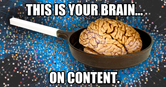 Are You Content Fried?!... Answer These 10 Questions to Find Out