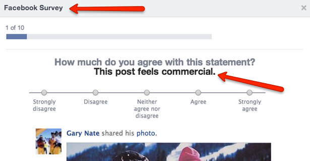 Facebook Just Asked Me If Businesses are Ruining My News Feed