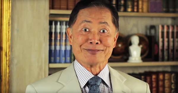 Here's How George Takei Has Fun with Photos on Facebook (and Goes Viral!)