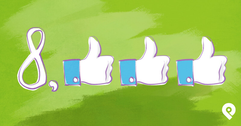 How a Facebook Page Got 8,000 LIKES with Almost NO Ads