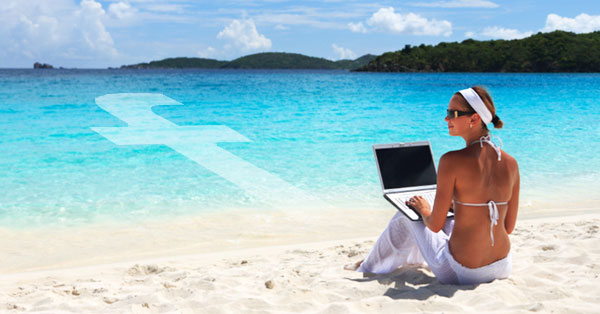 How to Boost Social Media Engagement While Lying on a Beach