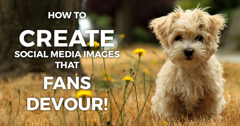 How to Create Social Media Images that Fans DEVOUR!
