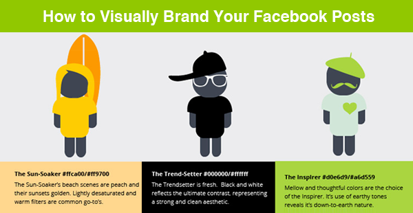 How to Visually Brand Your Facebook Posts and LIGHT UP the News Feed