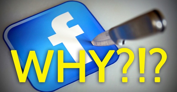 Leaving Facebook was Copyblogger's Biggest Mistake Yet!.. (facepalm)