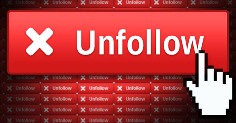 Who Unfollowed Me?.. Who Cares! The More Important Question is WHY!