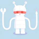 Robots tweet better