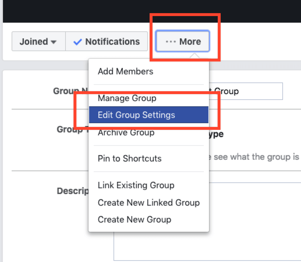 Can you turn your facebook page into a group