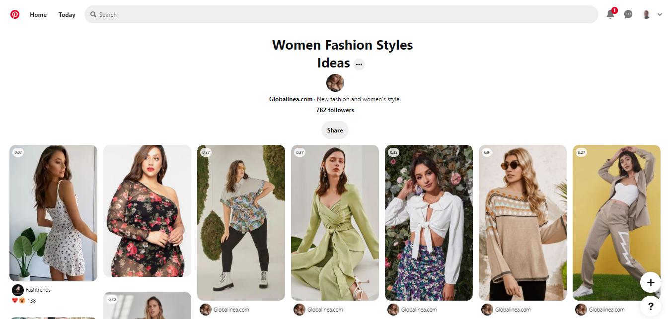 fashion board