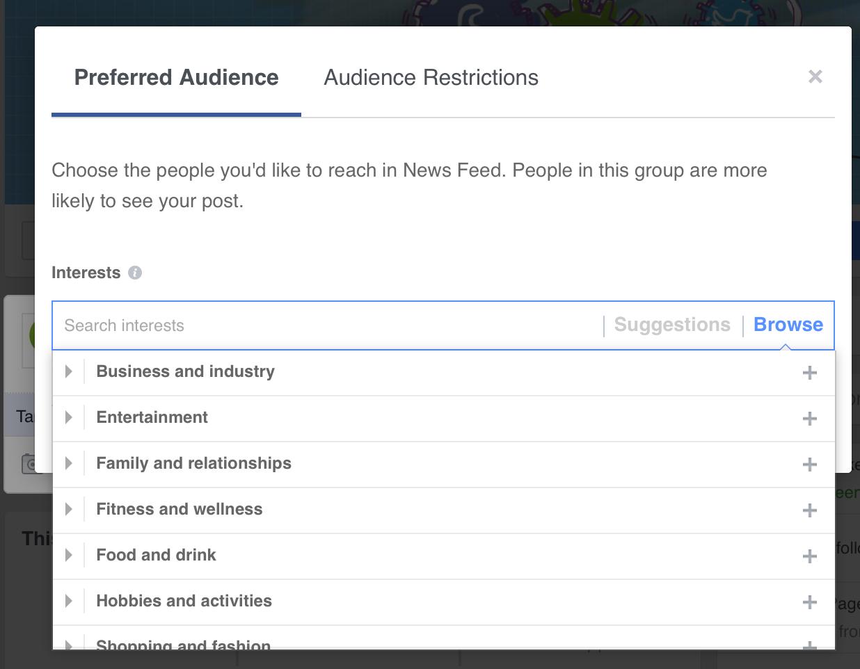 get better Facebook marketing results - target.png