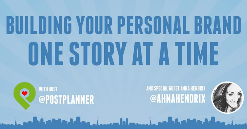 How to Use Storytelling to BIG UP Your Personal Brand on Social Media