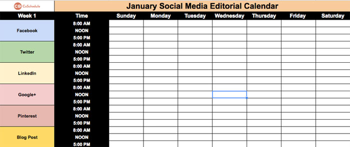 How to create a social media plan that works how to create a social media plan calendar maxwellsz
