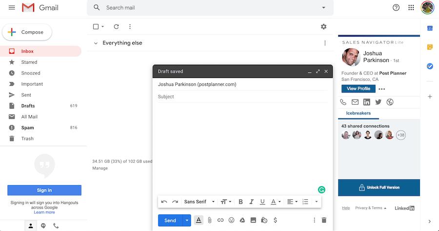 linkedin-automation-tools-sales-navigator-gmail