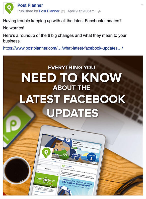 22 Facebook Post Ideas for Businesses that Practically