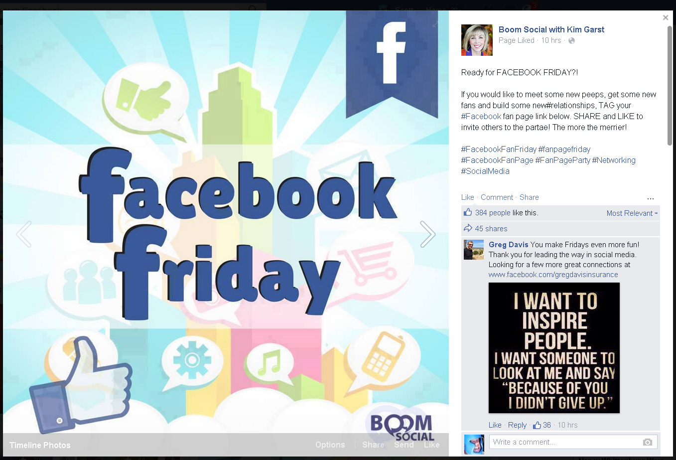 how to add just your facebook page to your intro