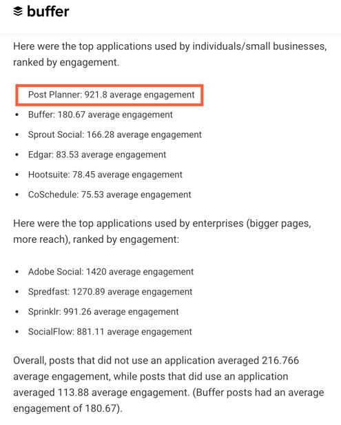 postplanner-most-engagement