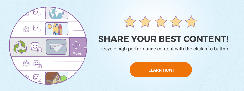 recycle top performing social media content