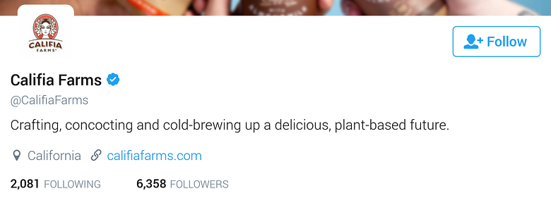 twitter bio for business-califiafarms.png
