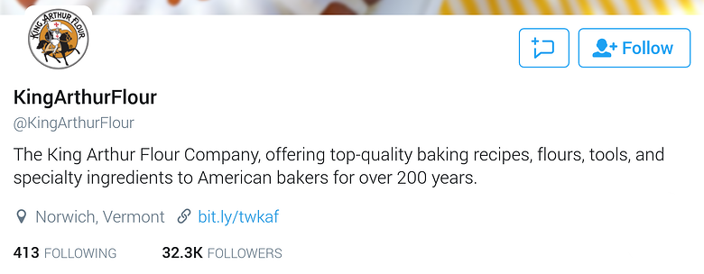 twitter bio for business-kingarthurflour.png