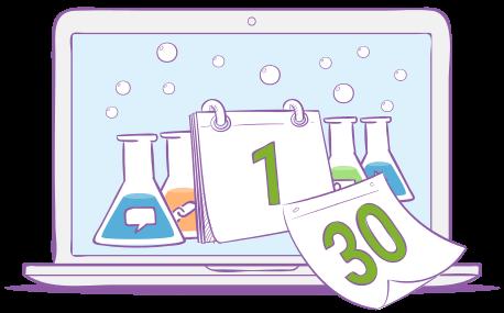 Experiment Calendar