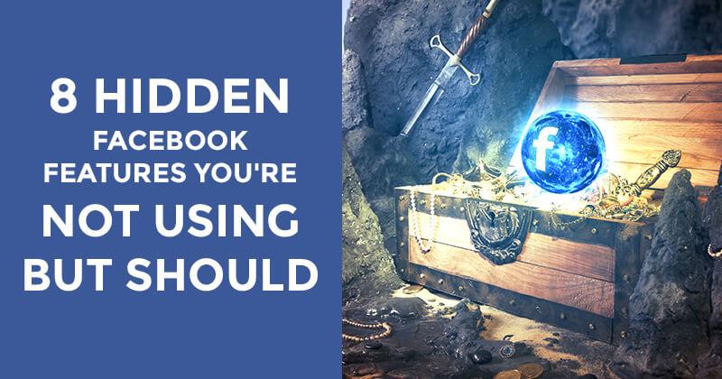 Hidden Facebook Features - graphic