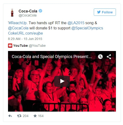 CocaCola-SpecialOlympics